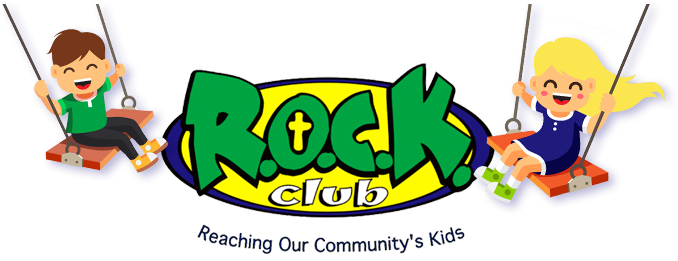 Footer logo for R.O.C.K. Club in Radford, VA