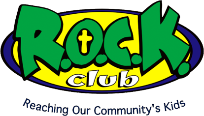 Header logo for R.O.C.K. Club in Radford, VA